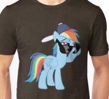Rainbow Dash Style no text Unisex T-Shirt