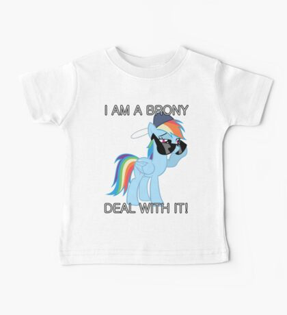 Rainbow Dash Brony Baby Tee