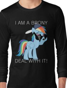 Rainbow Dash Brony Long Sleeve T-Shirt