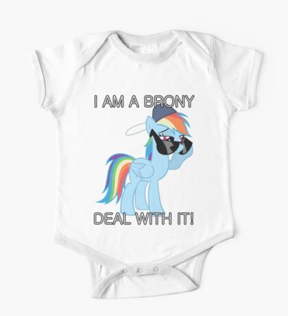 Rainbow Dash Brony One Piece - Short Sleeve