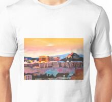 Athens Greece Acropolis At Sunset  Unisex T-Shirt