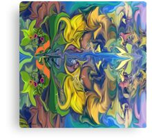 Secret Garden- Abstract-wall  Art + Products Design  Canvas Print