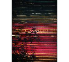 purple boogie  Photographic Print