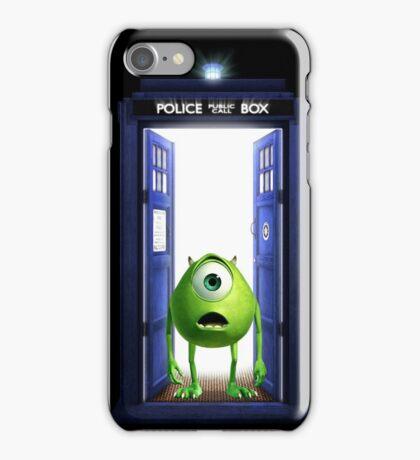 Tardis Monster inc iPhone Case/Skin
