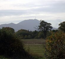 The Wrekin in Autumn, Telford Shropshire by Lawson Clout