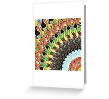 Abstract Collage of Colors 5 Greeting Card