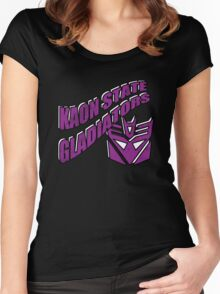 Decepticon State University Women's Fitted Scoop T-Shirt