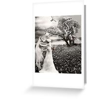 The Bride... Greeting Card