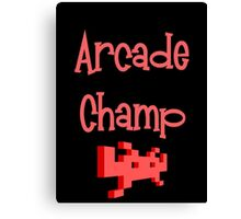 Arcade Champ by Chillee Wilson Canvas Print