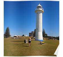 The Lighthouse, Yamba, NSW, Australia Poster