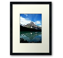 Mountain Reflections Framed Print