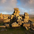 Staple Tor - Dartmoor National Park by garykingphoto