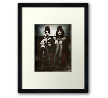 Sisters of the Sinister Framed Print