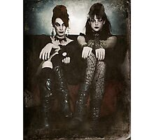 Sisters of the Sinister Photographic Print