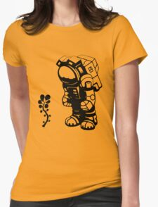Starlit Astronaut in Black T-Shirt