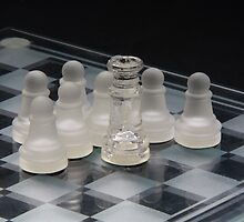 Chess Queen Following 2 by Colin Bentham