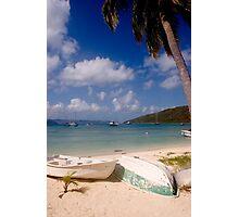 Caribbean Scene Photographic Print
