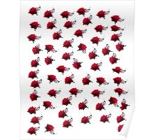ROSES as iPad Case Poster