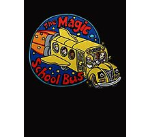 The Magic School Bus Photographic Print
