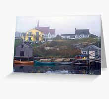 Peggys Cove #4 Greeting Card