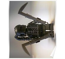 Custom Black Shadow Assassin Minifigure Poster