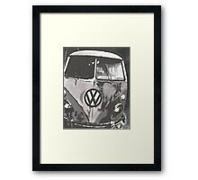 Beauty is Mono Framed Print