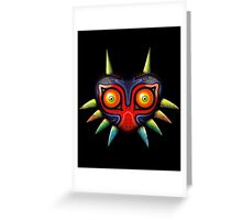 Majora's Mask (Zelda) Greeting Card