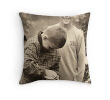 cousins Throw Pillow