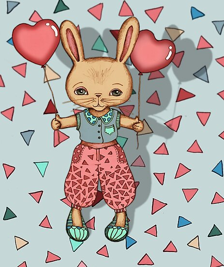 SomeBunny Loves You by micklyn