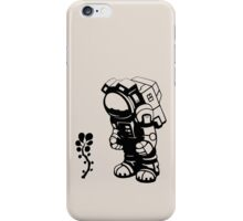 Starlit Astronaut in Black iPhone Case/Skin