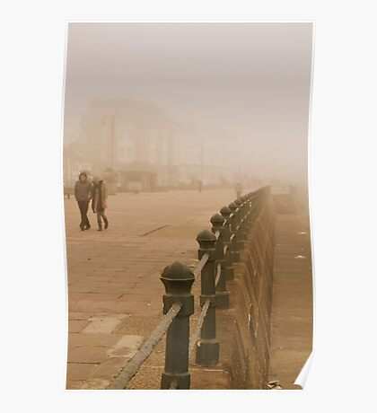 A stroll on the prom. Poster