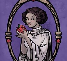 Snow Organa and the Poisoned Death Star by Karen  Hallion
