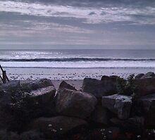 Cloudy Sky at The Beach Edit by karlbrobicsek