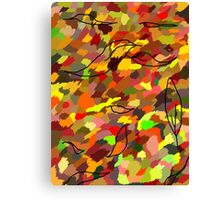 The Colour of Autumn Canvas Print