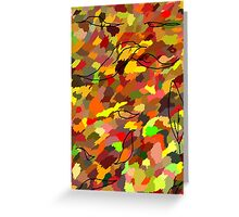 The Colour of Autumn Greeting Card