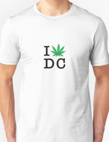 I [weed] Washington DC T-Shirt