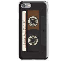 Cassette Tape Mix Classic iPhone Case/Skin