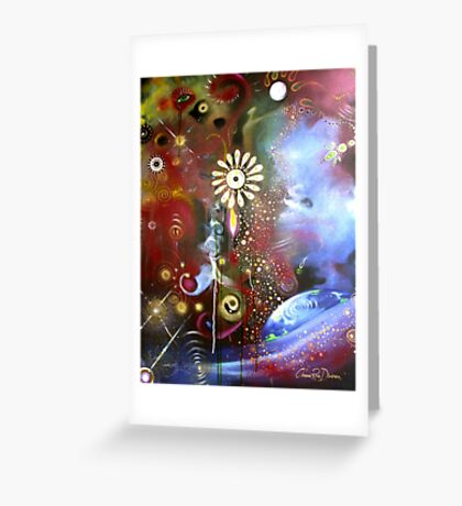 'Escapism'- Radiohead (No. 1 of the Rock Music Art Series) Greeting Card