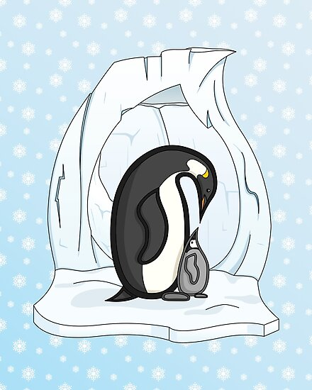 Davin and Annie the Penguins by Valerie Hartley Bennett