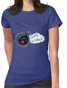 BOMB VOYAGE Womens Fitted T-Shirt