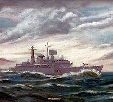 D86 HMS Birmingham by Woodie