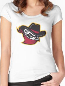 The River Bandits Head Women's Fitted Scoop T-Shirt