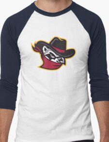 The River Bandits Head Men's Baseball ¾ T-Shirt