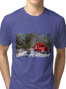 Holidays are coming  Tri-blend T-Shirt