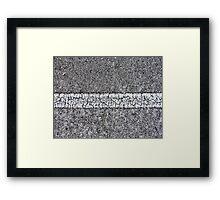 Division street Framed Print