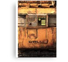 Waste Allocation Load Lifter – Earth Class (WALL E) Canvas Print