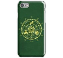 Zelda Triforce Art Logo iPhone Case/Skin
