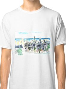 San Francisco Victorian houses Classic T-Shirt