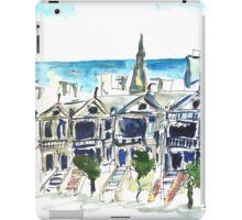 San Francisco Victorian houses iPad Case/Skin