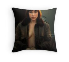 Portrait of Royal America  Throw Pillow